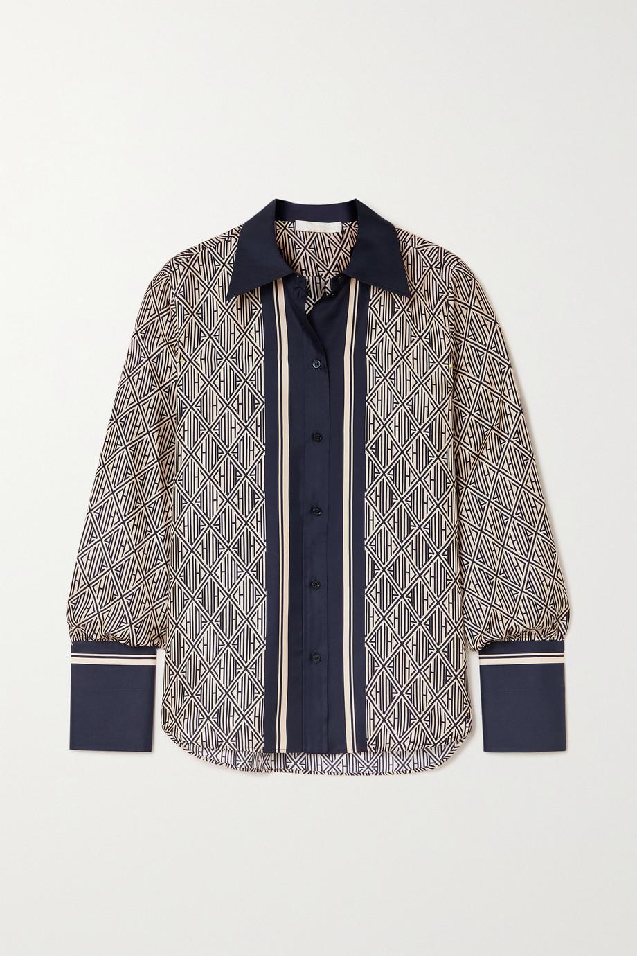 Chloé Hemd aus bedrucktem Seiden-Twill