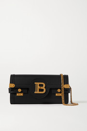 Balmain B-Buzz leather shoulder bag