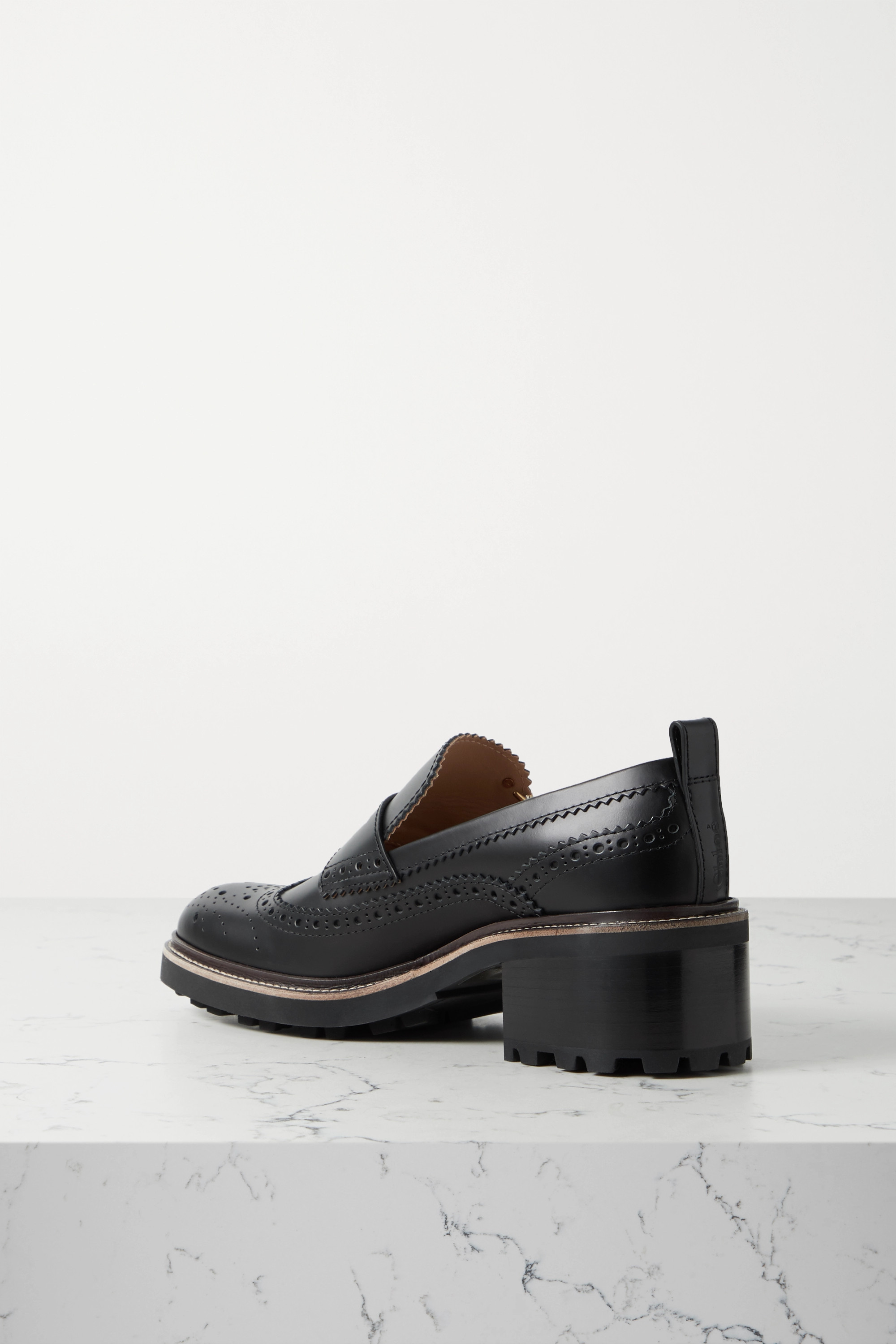 Chloé Franne leather loafers