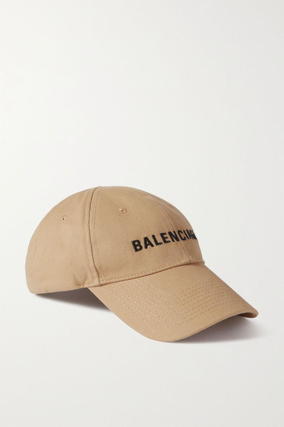 Balenciaga Embroidered cotton-twill baseball cap