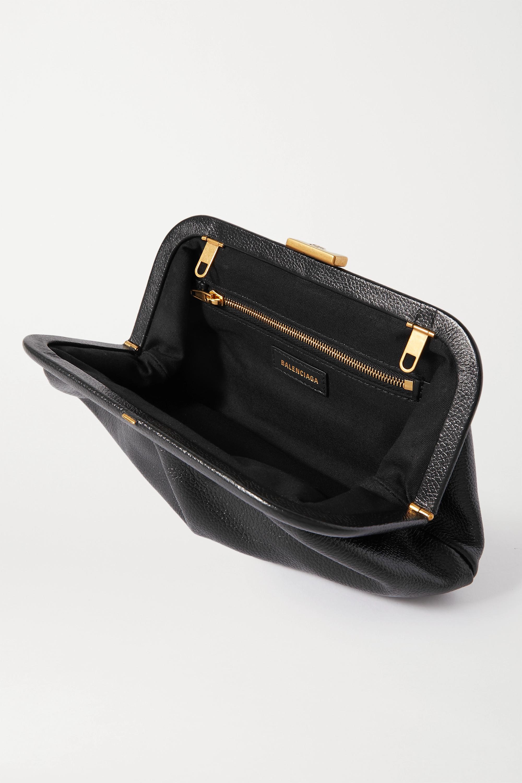 Balenciaga Cloud XS printed textured-leather clutch