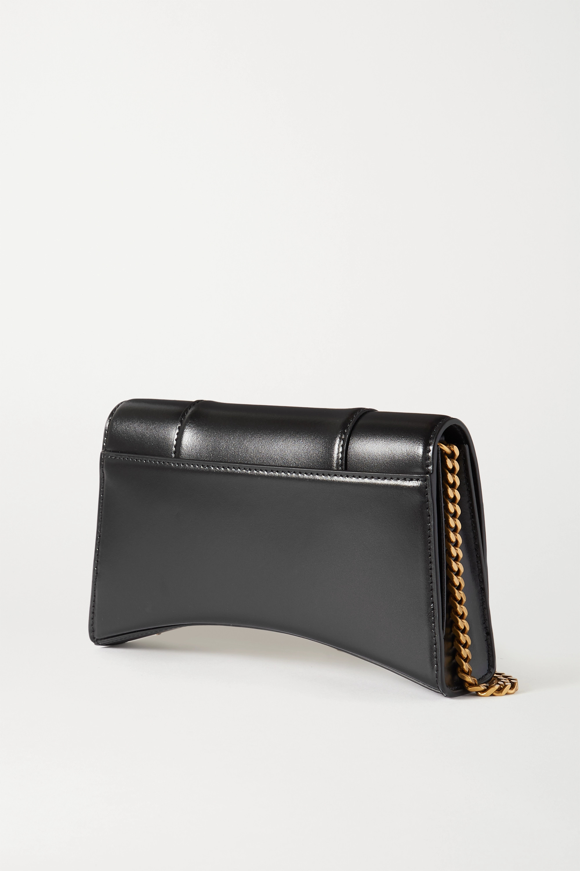 Balenciaga Hourglass small leather tote