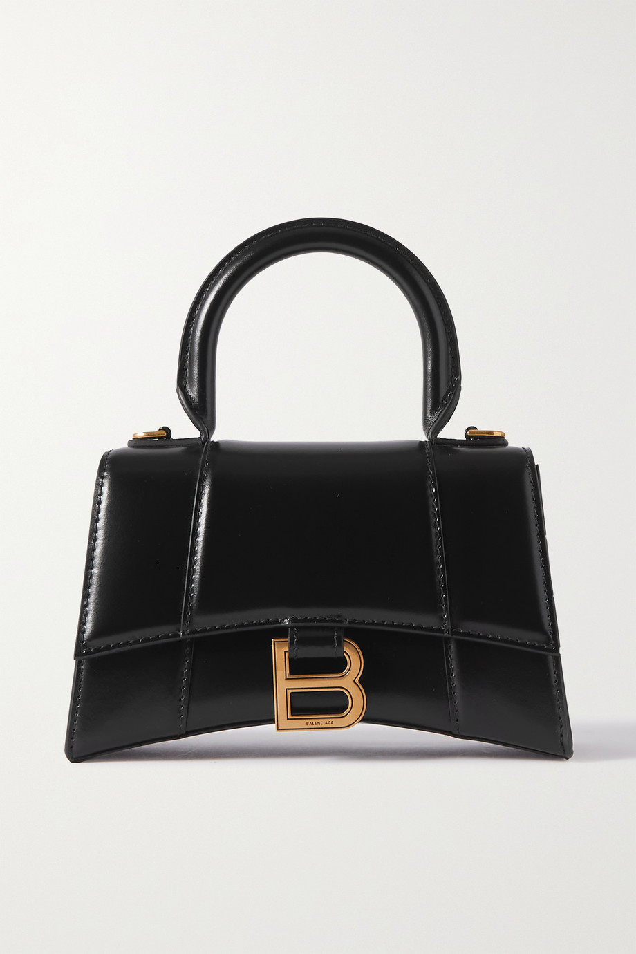 Balenciaga Hourglass XS leather tote