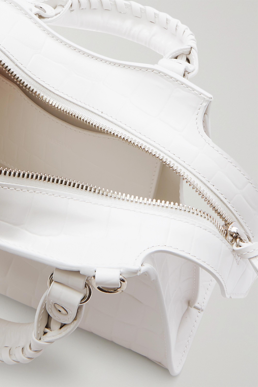 Balenciaga Neo Classic City mini croc-effect leather tote