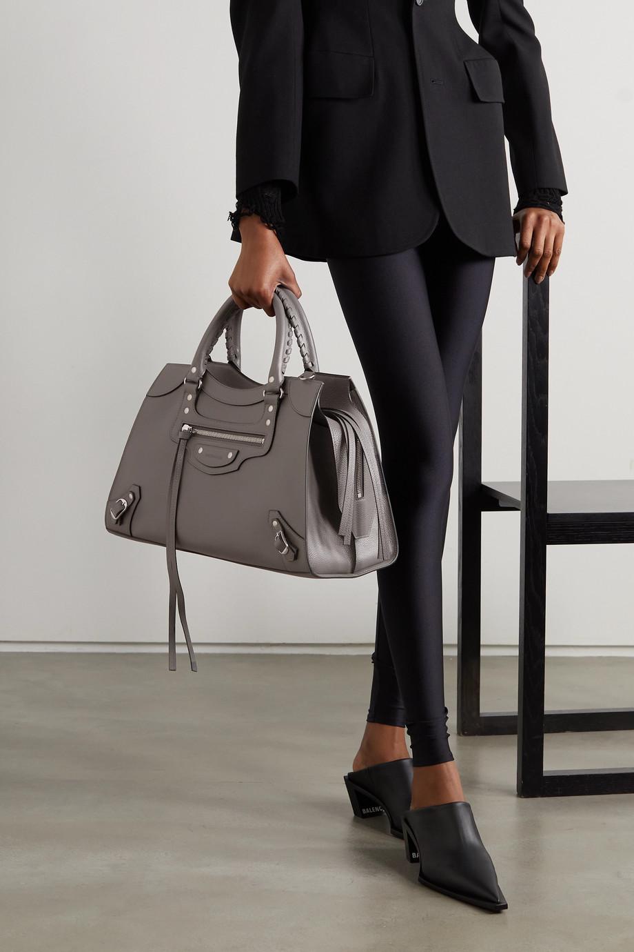 Balenciaga Neo Classic City medium textured-leather tote