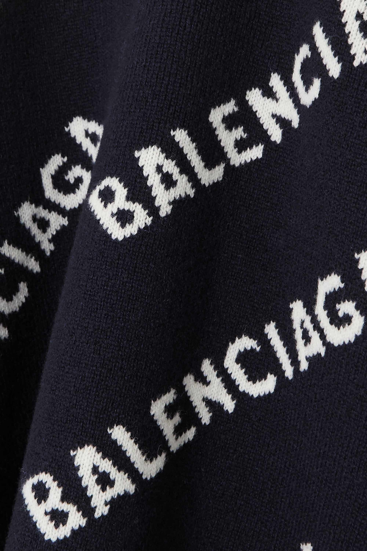 Balenciaga Pull en laine mélangée intarsia