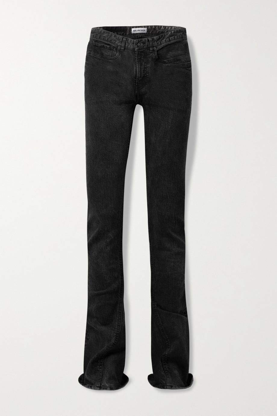 Balenciaga Mid-rise flared jeans