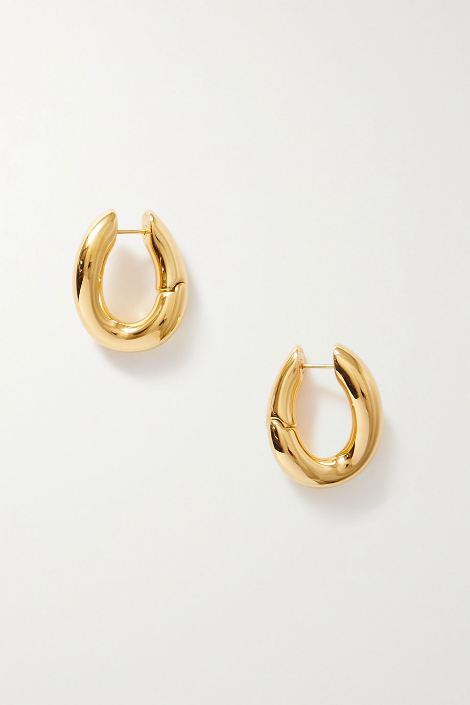 Balenciaga Loop gold-tone hoop earrings
