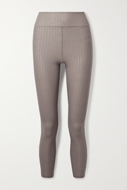 The Upside Liegia Dance stretch-jacquard leggings