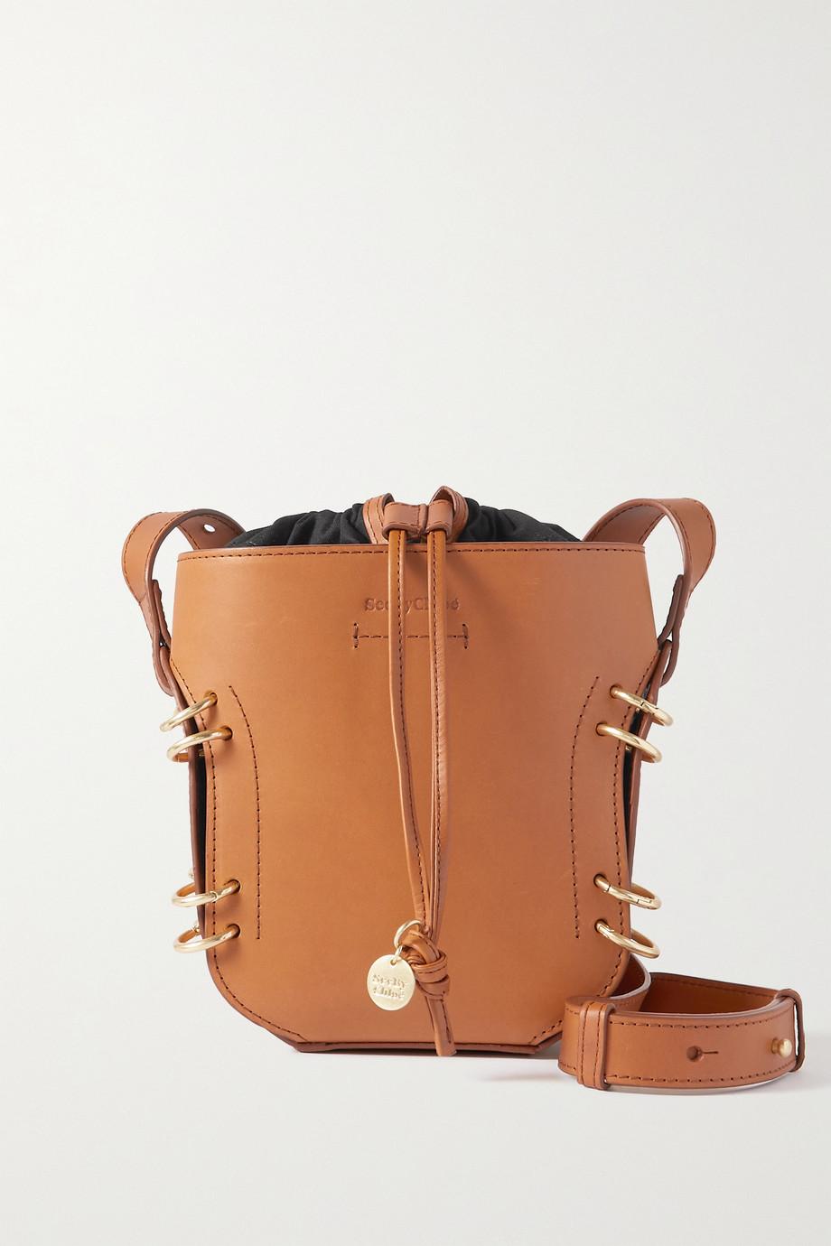 See By Chloé Alvy leather bucket bag