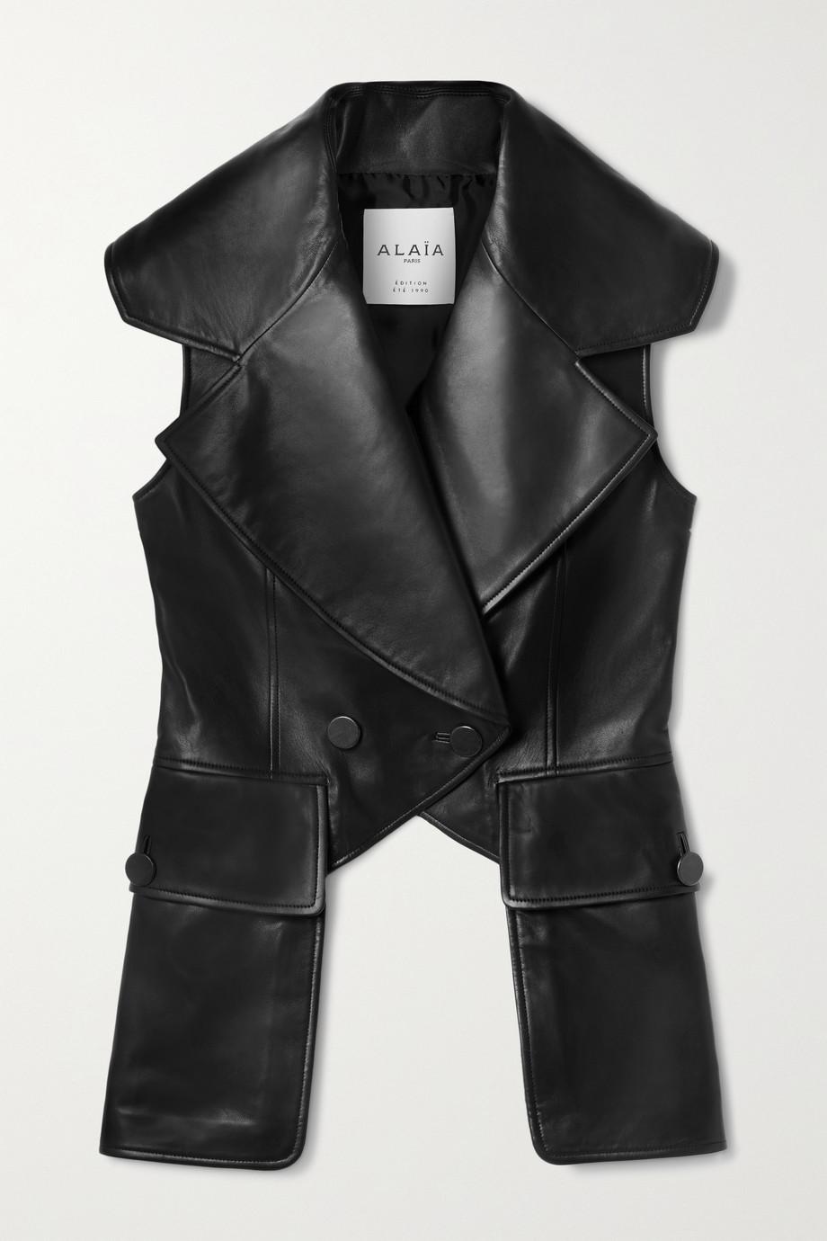 Alaïa Editions leather vest