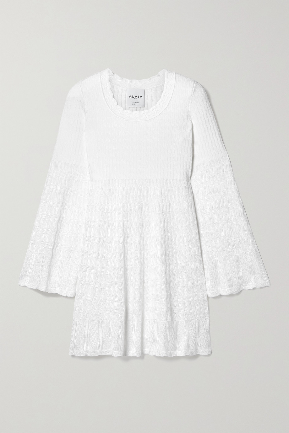 Alaïa Editions knitted tunic