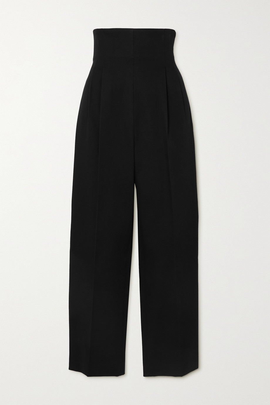 Alaïa Cotton-gabardine straight-leg pants
