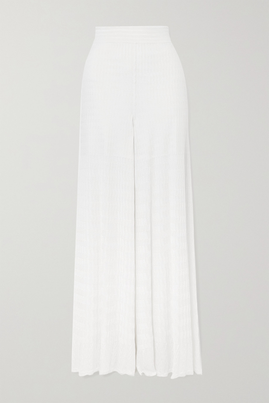 Alaïa Editions knitted wide-leg pants