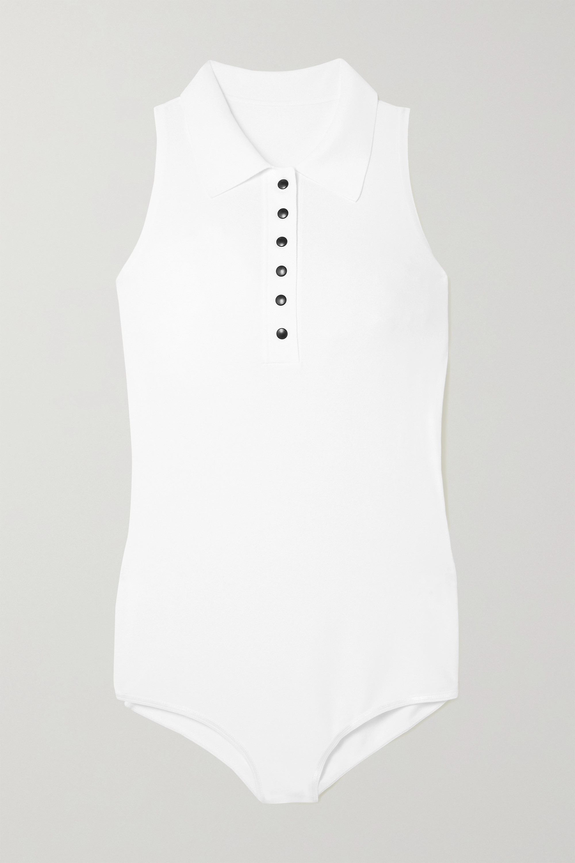 Alaïa Stretch-knit bodysuit