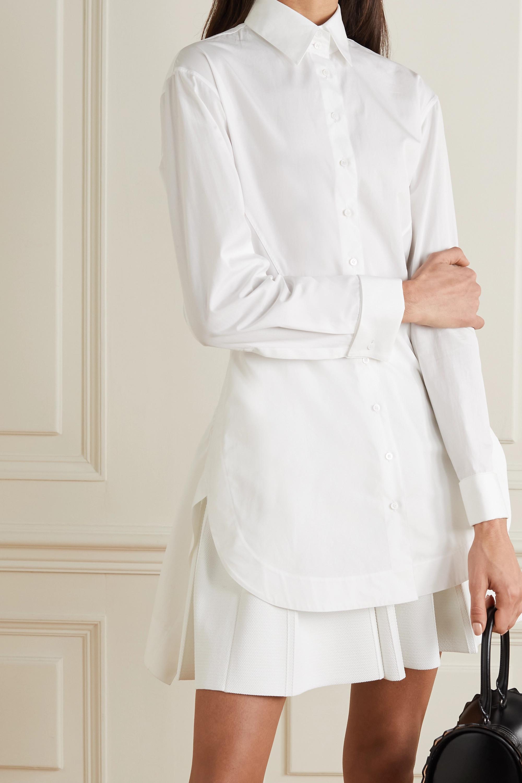 Alaïa Editions cotton-poplin shirt