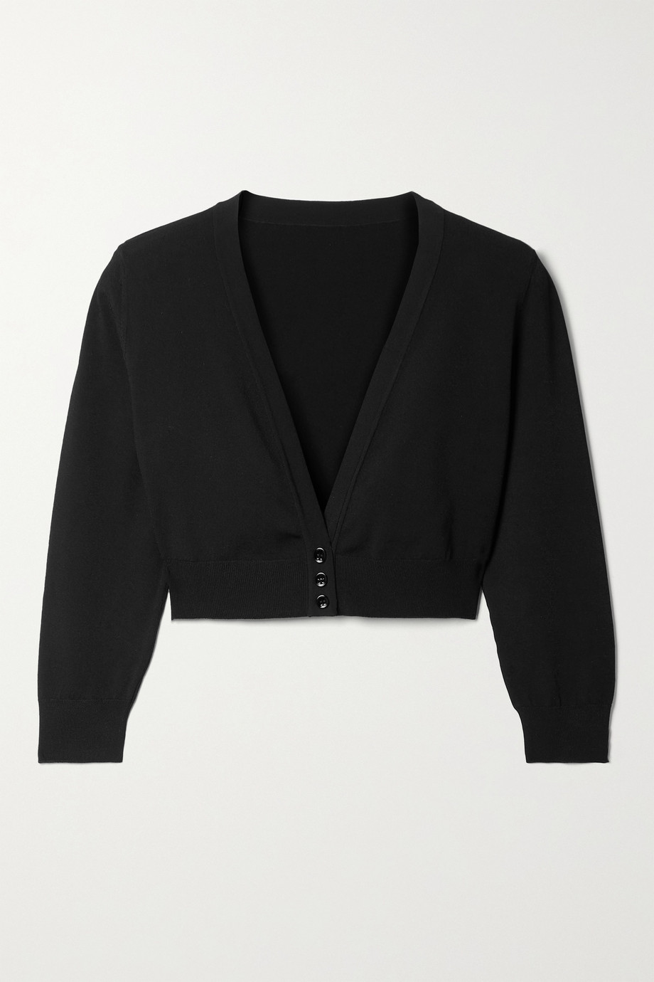 Alaïa Cropped knitted cardigan