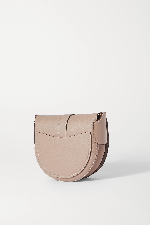 Chloé Darryl small textured-leather shoulder bag