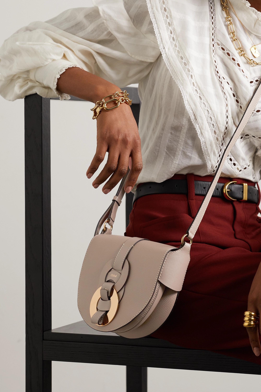 Chloé Sac porté épaule en cuir texturé Darryl Small