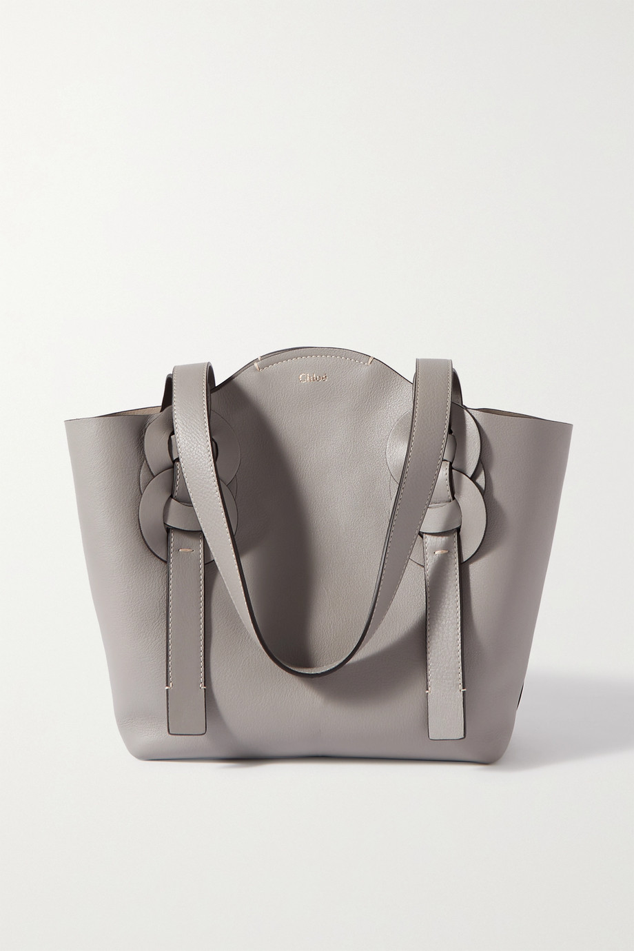 Chloé Darryl small braided leather tote
