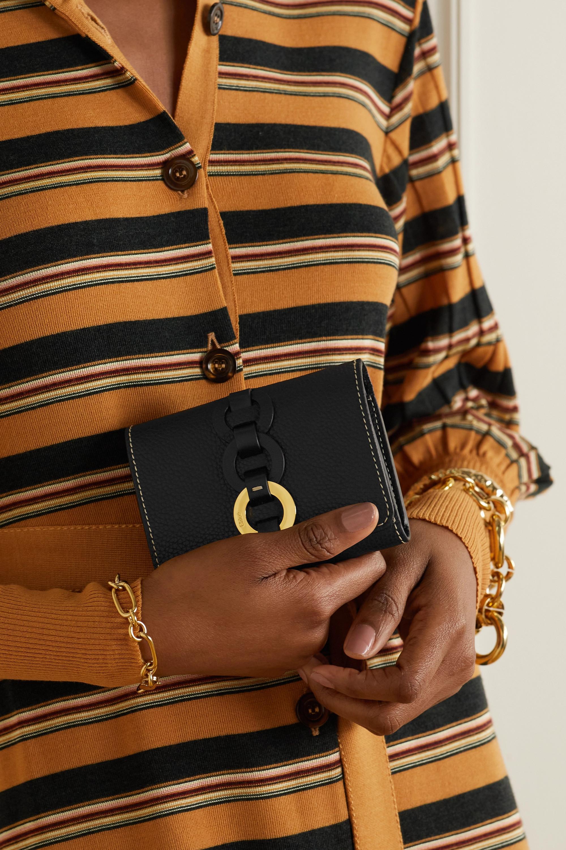 Chloé Darryl textured-leather wallet