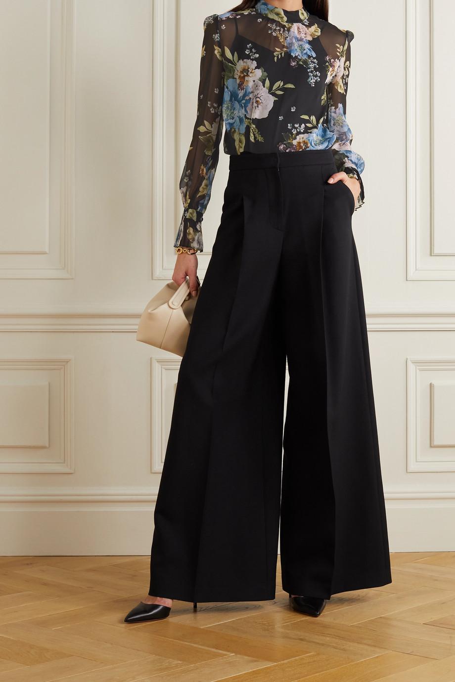Erdem Barnaby floral-print silk-voile blouse
