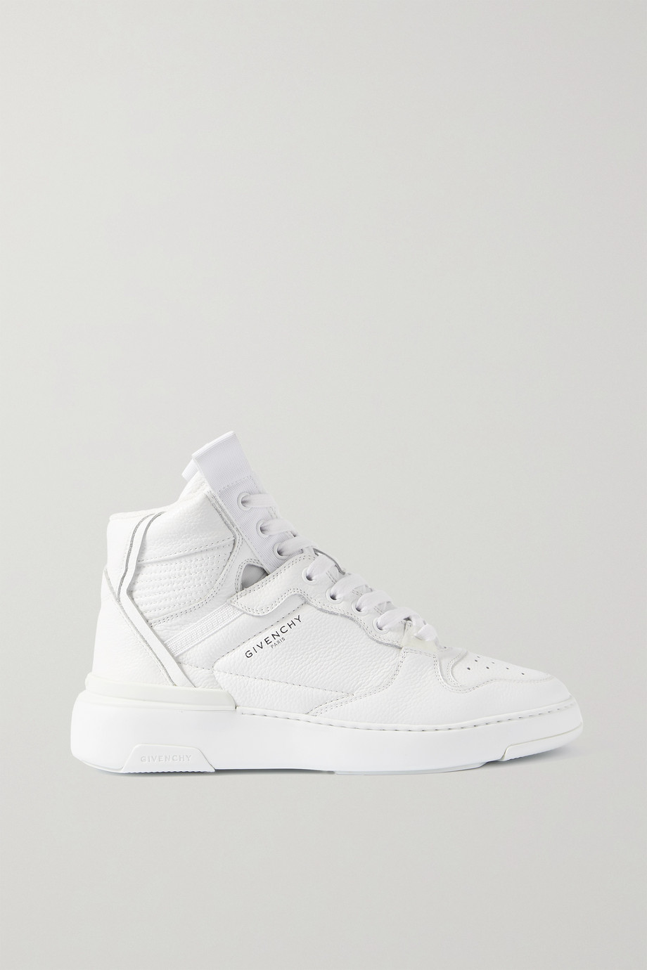 Givenchy Wing perforated leather high-top sneakers