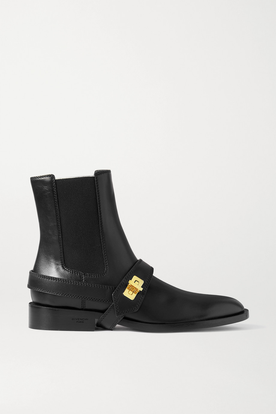 Givenchy Eden buckle-detailed leather Chelsea boots