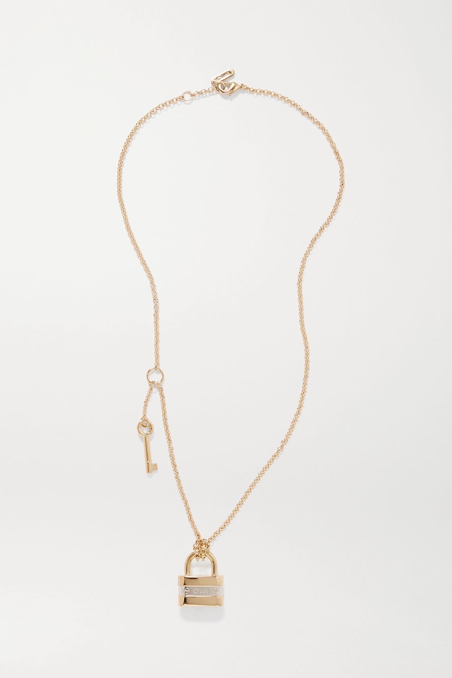 Chloé Colleen gold and silver-tone necklace