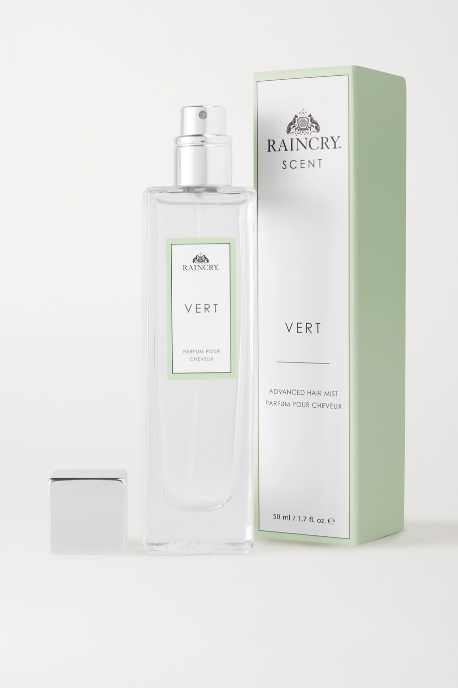 RAINCRY Advanced Hair Mist Vert - Rose Dew Provence, 50ml