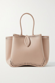 Alaïa Angèle 25 laser-cut leather tote
