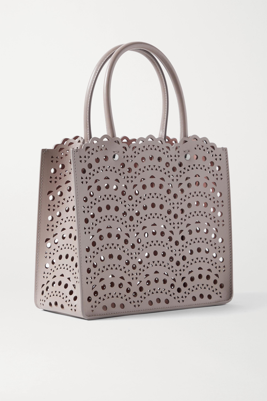 Alaïa Garance mini laser-cut leather tote