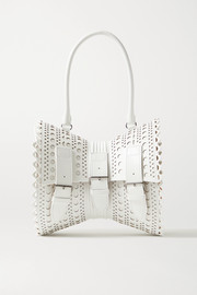 Alaïa Corset 22 scalloped leather tote