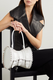 Alaïa Editions Corset 22 scalloped leather tote