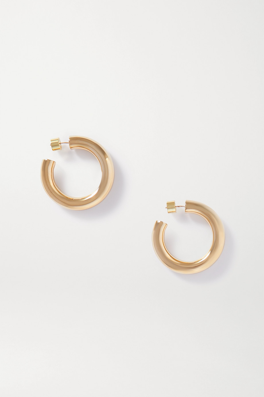 Jennifer Fisher Mini Jamma gold-plated hoop earrings