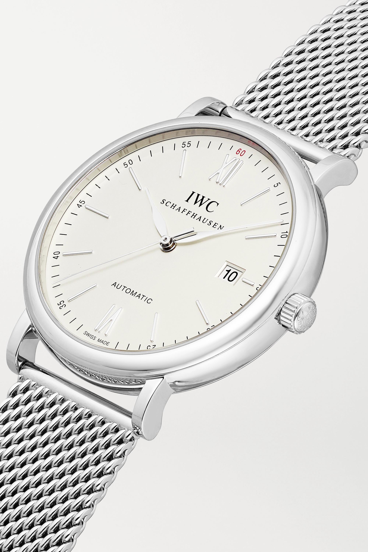 IWC SCHAFFHAUSEN Portofino Automatic 40 stainless steel watch