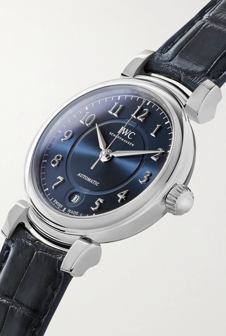 IWC SCHAFFHAUSEN Da Vinci Automatic 36mm stainless steel and alligator watch