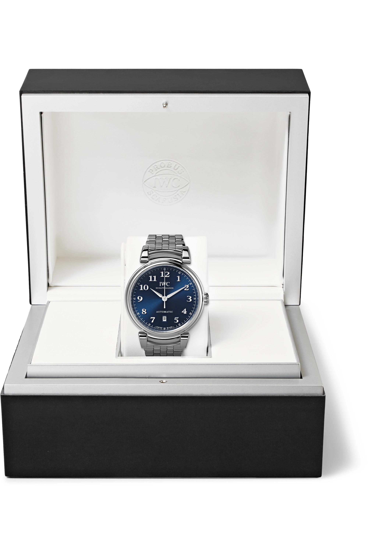 IWC SCHAFFHAUSEN Da Vinci Automatic 40mm stainless steel watch