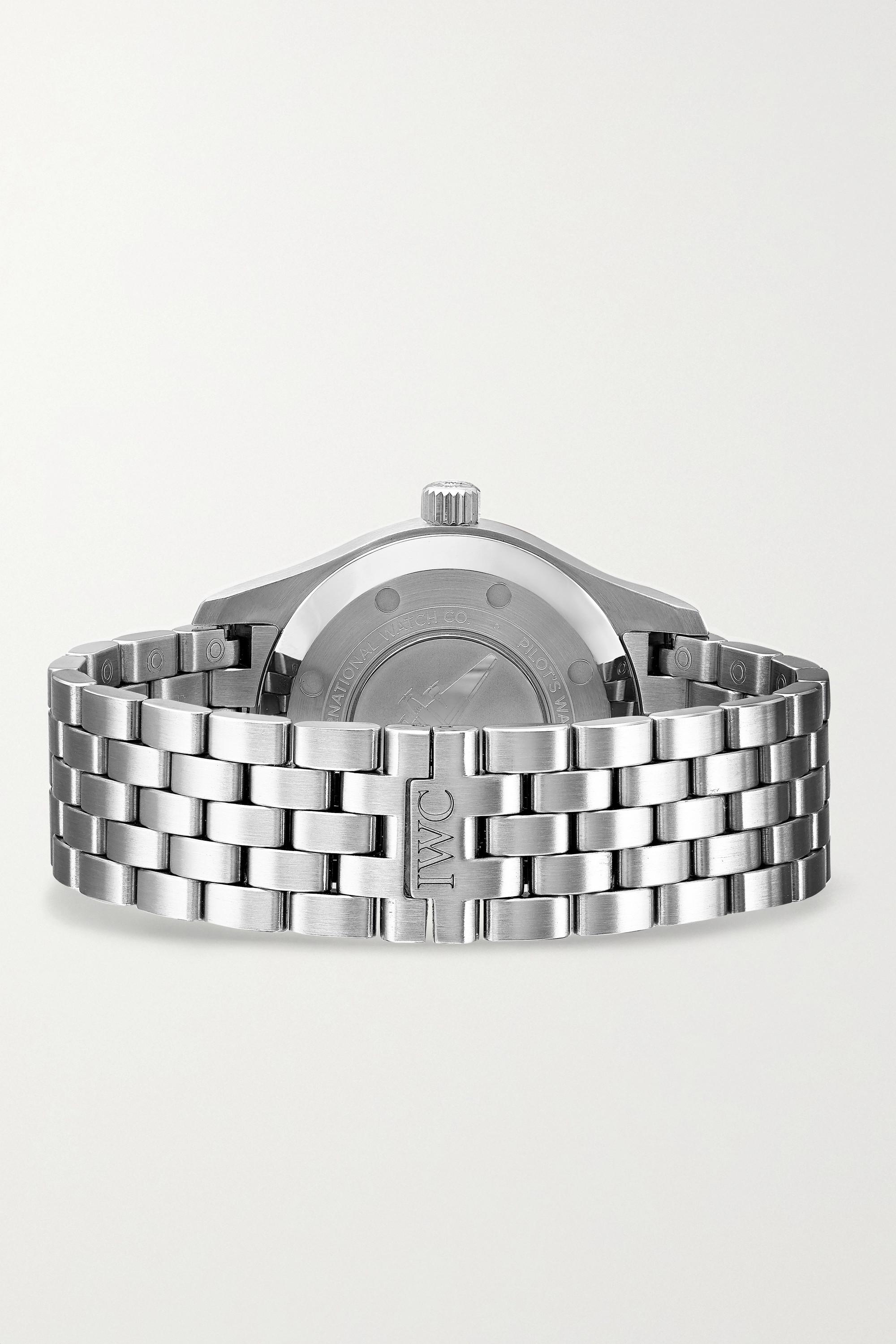 IWC SCHAFFHAUSEN Pilot's Automatic 36mm stainless steel watch