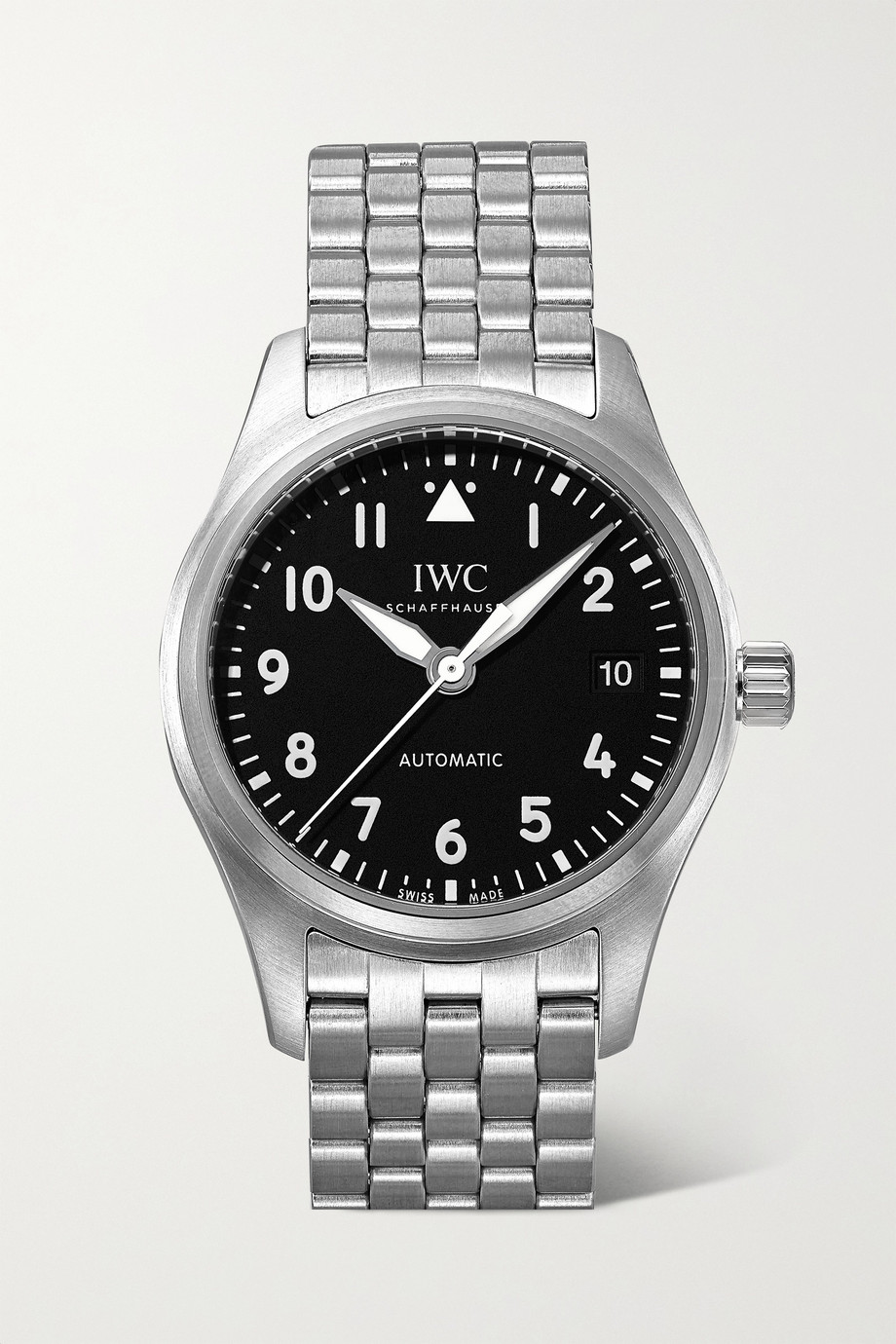 IWC SCHAFFHAUSEN Pilot's Automatic 36 mm Uhr aus Edelstahl