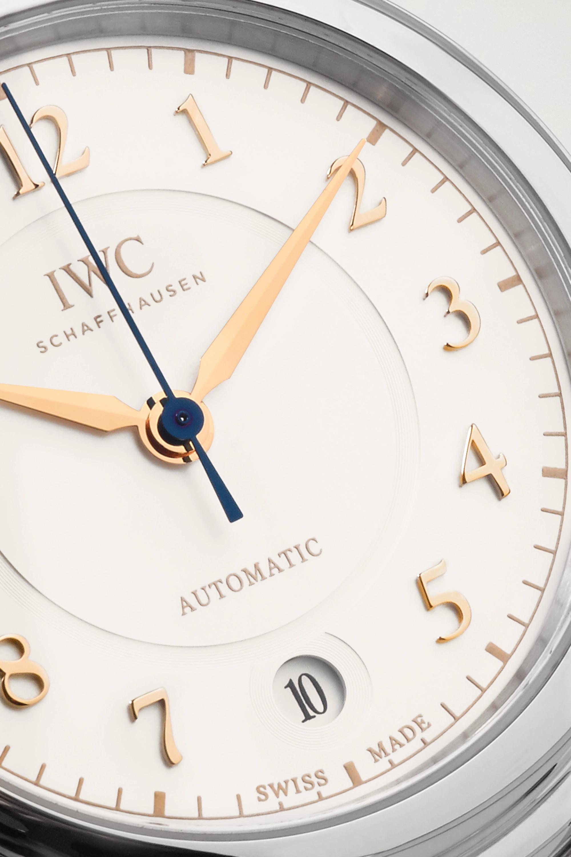 IWC SCHAFFHAUSEN Da Vinci Automatic 36mm stainless steel watch