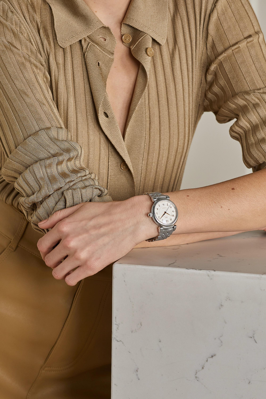 IWC SCHAFFHAUSEN Da Vinci Automatic 36 mm Uhr aus Edelstahl
