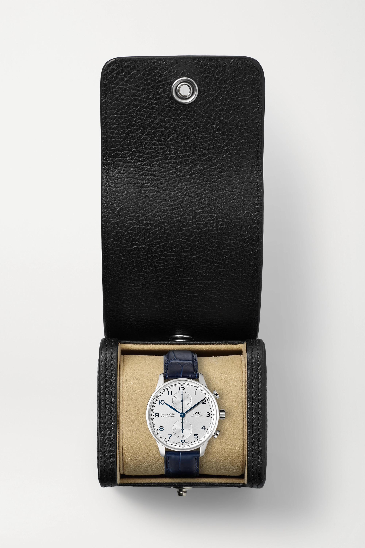 IWC SCHAFFHAUSEN Portugieser Automatic Chronograph 41mm stainless steel and alligator watch
