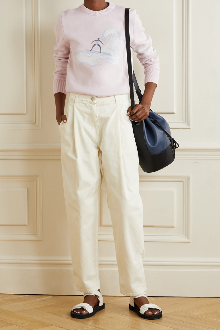 Thom Browne Cotton-blend jacquard sweater