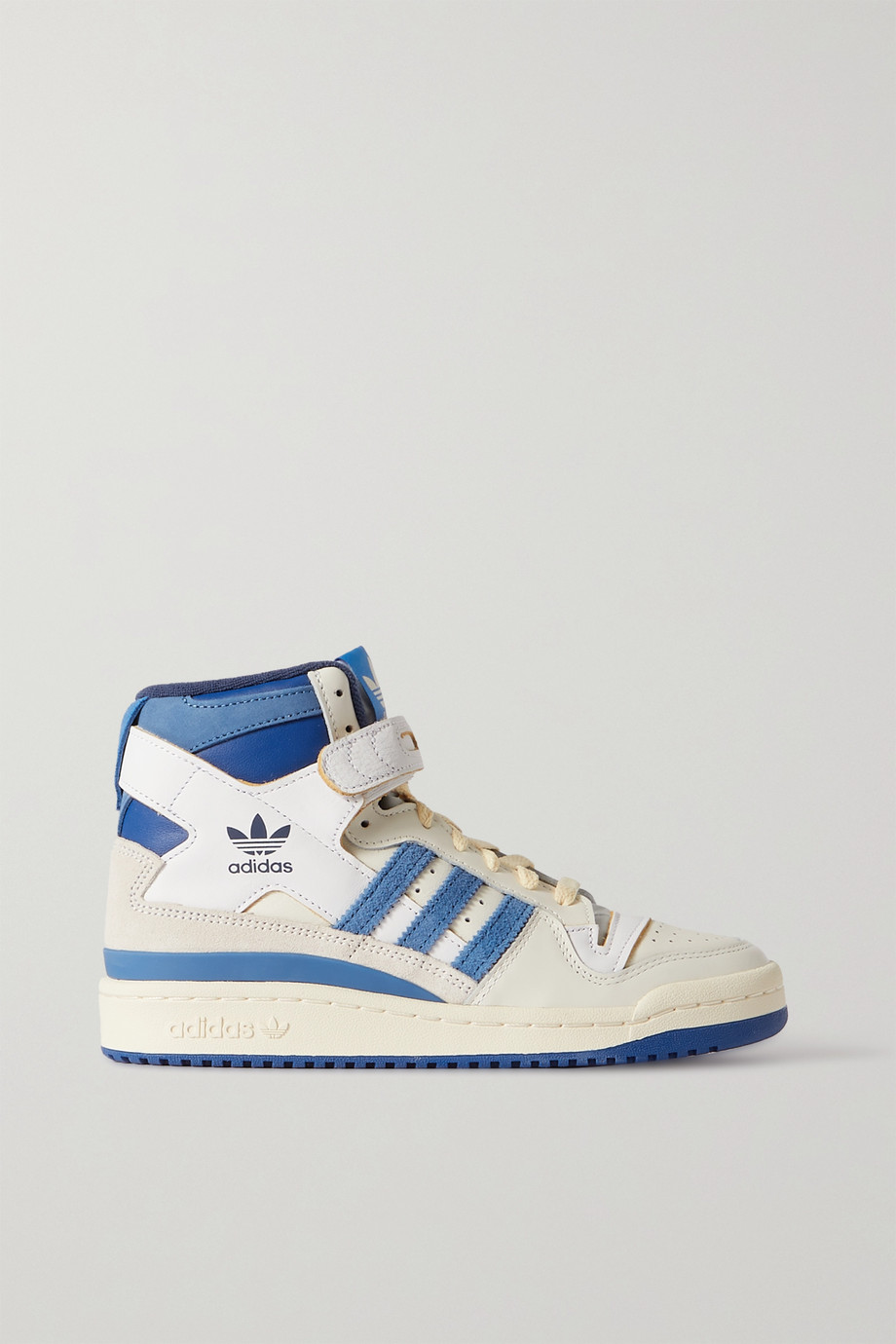 adidas Originals OG Forum 84 leather and suede high top sneakers
