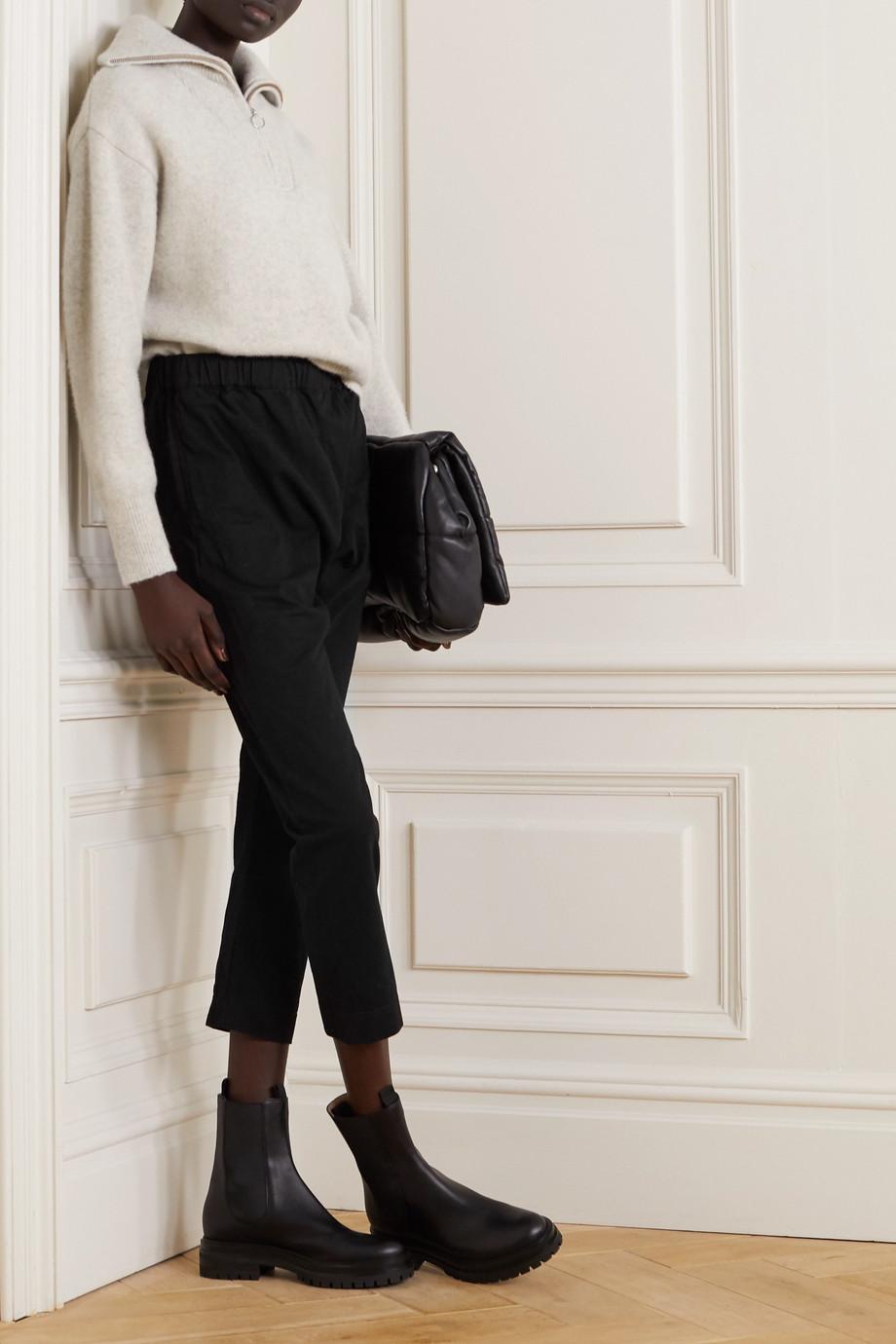 Bassike 【NET SUSTAIN】有机纯棉平纹布九分休闲裤