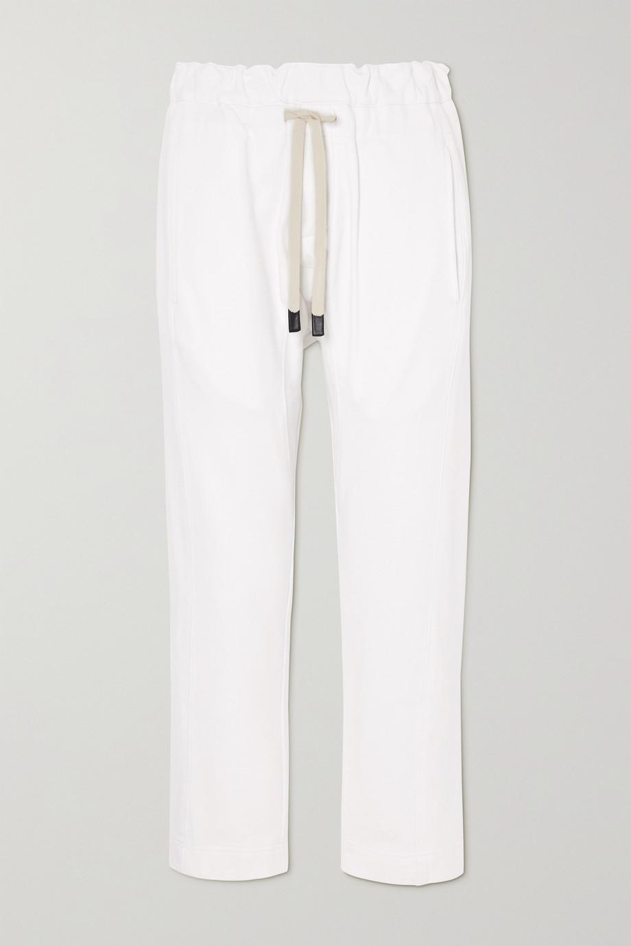 Bassike + NET SUSTAIN organic cotton track pants