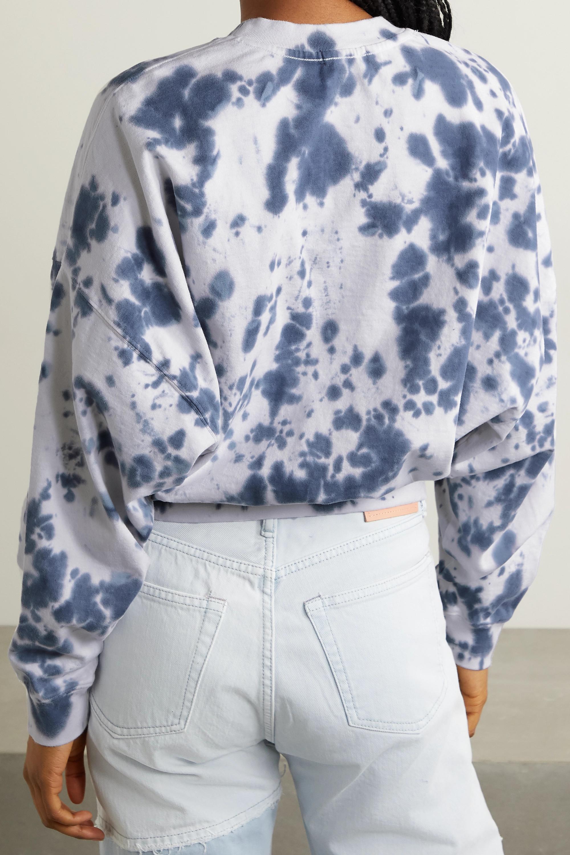 Bassike + NET SUSTAIN verkürztes Sweatshirt aus Biobaumwoll-Jersey