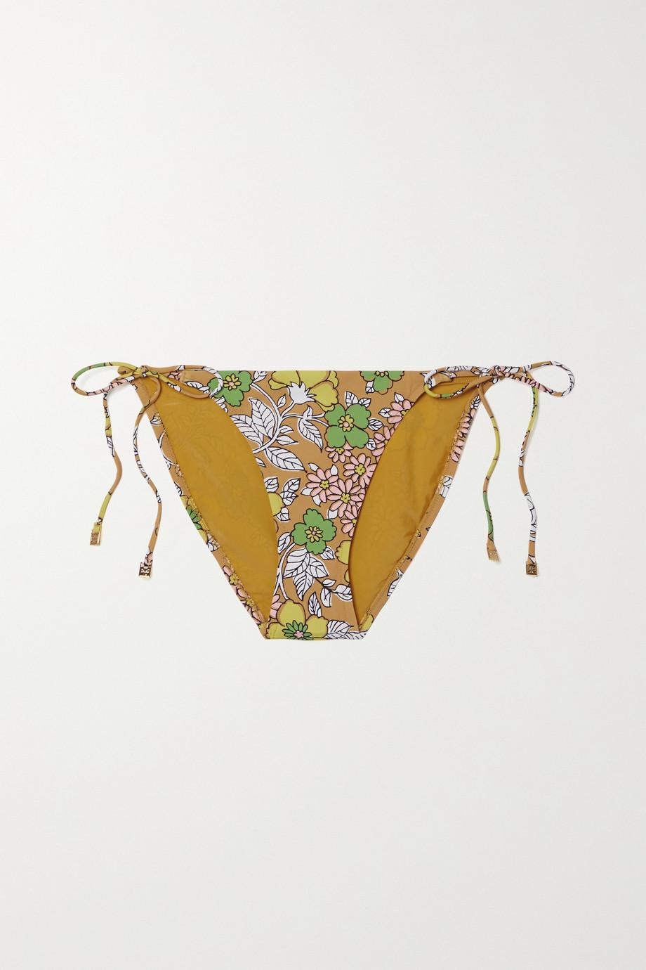Tory Burch Floral-print bikini briefs