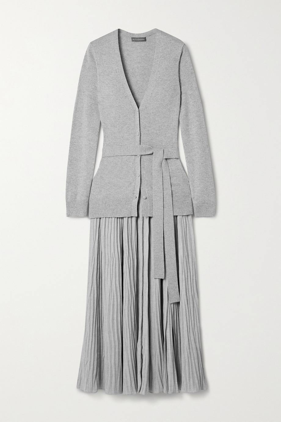 Altuzarra Manuel belted knitted midi dress